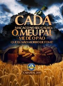 Unidos da Tijuca - Logo do Enredo - Carnaval 2019