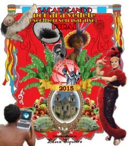 Unidos da Vila Kennedy - Logo do Enredo - Carnaval 2015