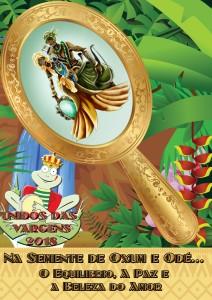 Unidos das Vargens - Logo do Enredo - Carnaval 2018