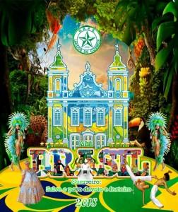 Unidos de Cosmos - Logo do Enredo - Carnaval 2018