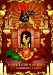 Unidos de Lucas - Logo do Enredo - Carnaval 2019