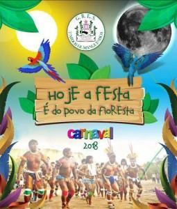 Unidos de Manguinhos - Logo do Enredo - Carnaval 2018