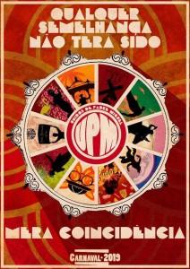 Unidos de Padre Miguel - Logo do Enredo - Carnaval 2019