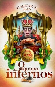 Unidos de Padre Miguel - Logo do Enredo - Carnaval 2016