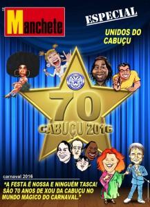 Unidos do Cabuçu - Logo do Enredo - Carnaval 2016