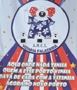 Vizinha Faladeira - Logo do Enredo - Carnaval 2015