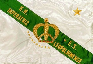 Imperatriz Leopoldinense - Bandeira