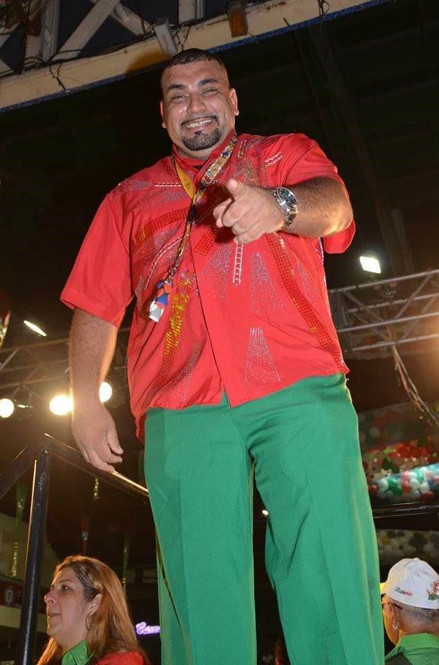 Thiago Diogo, mestre de bateria da Grande Rio (Foto: Vicente Rodrigues / Divulgação)