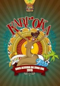 Alegria da Zona Sul - Logo do Enredo - Carnaval 2015
