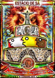 Estácio de Sá - Logo do Enredo - Carnaval 2015