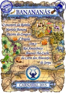 Acadêmicos do Sossego - Logo do Enredo - Carnaval 2015